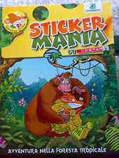 Album figurine STICKER MANIA DESPAR Stiloton avventura foresta tropicale