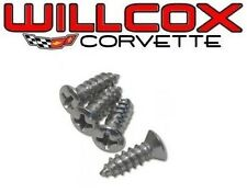 68-76 CORVETTE Dash Bezel Center Screw Kit 4 pcs K1116