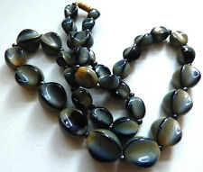 Vintage Art Deco 1920s Venetian / Czech Glass Bead Necklace unusual
