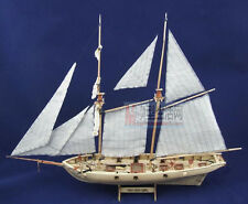 Scale 1/100 Classical sailboat wood Model kits Halcon 1840 sail boat