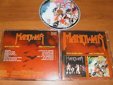 """Manowar """" Into Glory Ride / Hail To England """" 1983/1984  CD ! 2in1"""