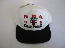 New NWT Chicago Bulls Snapback Hat Cap New Old Stock Vintage 90's