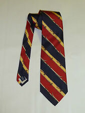 Ralph Laureen Polo Stripped Silk Twill Tie  ***Brand New***