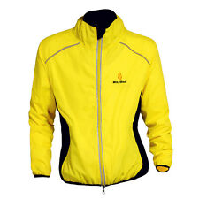 2016 Hi Viz Cycling Jacket Running Riding Coat Windproof / Breathable 6 Colors