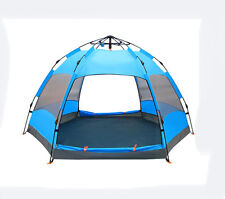 6-9 Persons POP UP Double Lining Waterproof Outdoor Beach Camping Hiking Tent #