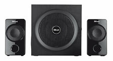 TRUST ATLAS 19738 60W PEAK, 30W RMS 2.1 SPEAKER SET WITH SMART POWER MANAGEMENT