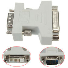 DVI-D 24+1 Link Female to VGA Male 15 Pin F/M Connector Adapter Converter
