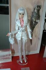 NRFB Superdoll Sybarite Complete Blade white suit set+Bustier and undies