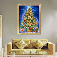DIY 5D Diamond Painting Christmas Tree Embroidery Cross Stitch Home Decor Scraft