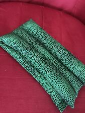 rice flax heat pad hot /cold shoulder neck wrap pack Pick Scent Emerald Print