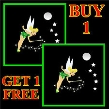 TINKERBELL FAIRY - FUN CAR / WINDOW STICKER + 1 FREE - NEW - GIFT/ B/DAY / XMAS