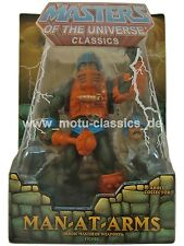 MAN AT ARMS  2009 ERSTAUFLAGE Masters of the Universe Classics MOTU He-Man NEU