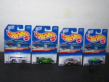 1998 HOT WHEELS X-TREME SPEED SERIES SET OF 4 MIP