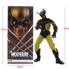 "14"" Crazy Toys Marvel X-men Wolverine Action Figure Movable Statue Decor Gift"