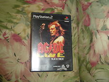 AC/DC Live Rockband Track Pack  (Sony PlayStation 2, 2008) Rated T for Teen