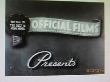 Touchdown Thrills 1947 16mm Vintage B&W Short