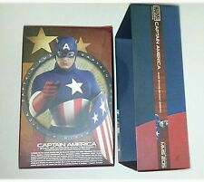 1/6 Hot Toys Captain America MMS205 Empty Box With Plastic Inserts