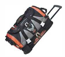 Harley-Davidson 21 inch Carry-On Duffel, Lightweight Wheeled Bag 99622-RUST/BLK