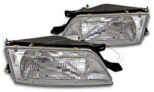New Replacement Headlight Assembly PAIR / FOR 1995-96 NISSAN MAXIMA