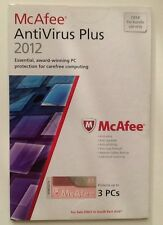 McAfee Antivirus Plus 2012 - 3-USER