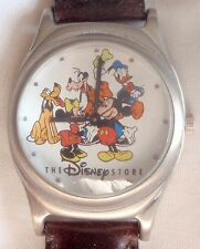 Disney Store Cast Member Exclusive Minnie Mickey Mouse Goofy Donald Pluto Watch