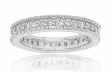 1.05 ct Ladies Round Cut Diamond Eternity Wedding Band Ring High Quality 18 kt