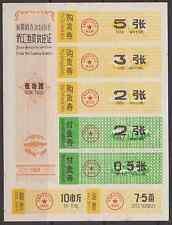 China Rice Food Coupons XinJiang Uygur (Aut.Reg.) 1980 & 1982 year #69