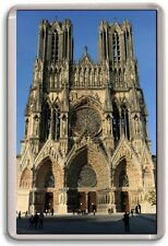 FRIDGE MAGNET - REIMS CATHEDRAL - Large Jumbo - France
