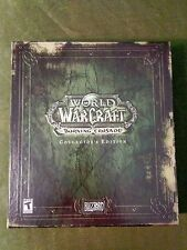 World of Warcraft Burning Crusade Collector's Edition - Opened/Key Used