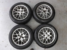 "Mazda MX5 MK1 TSW 14"" Alloy Wheels with Tyres 185/60R14 82H"