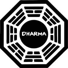 "2"" Dharma Initiative Lost High Quality Decal Sticker Cell Phone Car Tv show"