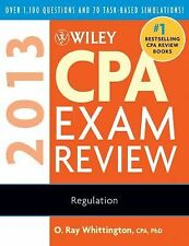 Wiley CPA Exam Review 2013, Regulation, Whittington, O. Ray, Acceptable Book