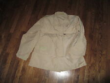 "abdu shirt ,khaki""coat  aircrew combat tan"", nomex, new old stock, XLG  long"
