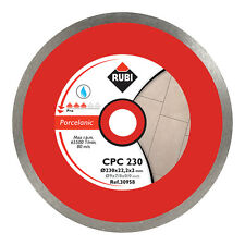 Rubi CPC 180mm Diamond Blade Saw Porcelain Cutting - 30955