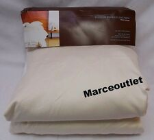 HUDSON PARK 600 Thread Count 100% Egyptian Cotton QUEEN Fitted Sheet Ivory