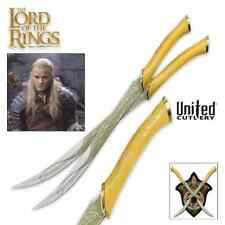 UNITED CUTLERY LOTR UC1372 LICENSED FIGHTING KNIVES OF LEGOLAS.