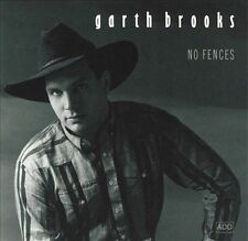 Garth Brooks 'No Fences' Country Music CD 1990 Liberty Friends in Low Places