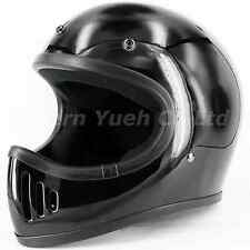 CYC Moto 3-style Blaster Off-Road Motocross Helmet Black DOT Medium M Cafe Racer