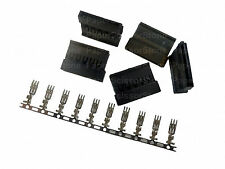 5pcs SATA Power Connector Crimp Plug with Terminal Pin  for SATA Hard Drive