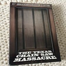 The Texas Chainsaw Massacre 40th anniversary blu-ray/DVD edition