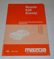 Werkstatthandbuch Mazda 626 Kombi Typ GW / GF Karosserie, Stand 01/1998
