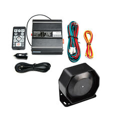 200W Siren Mic Pa System Vehicle Warning Horn Siren Kit with wireless Remote
