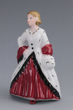 Royal Doulton Miniature Lady figurine - 'The Ermine Coat'