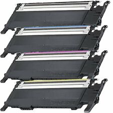 4 Color Toner Cartridges for Samsung CLP320 CLP325 CLP325W CLX-3180 CLX3185FN