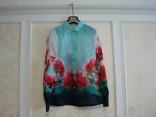 NWT $648 KATE SPADE MADISON AVE COLLECTION GINI TOP BLOUSE 0  100% SILK