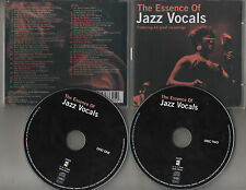 THE ESSENCE OF JAZZ VOCALS ~44 GREAT JAZZ RECORDINGS DOUBLE CD ***FREE UK P&P***