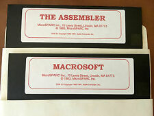 Macrosoft / The Assembler / Apple II Home Computer