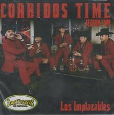 CD - Los Tucanes De Tijuana Los Implacables NEW Corridos Time FAST SHIPPING !