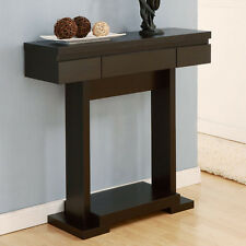 Deacons Modern Style Cappuccino Finish Console Table