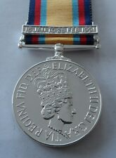 Gulf War Full Size Medal, 1991, Military, Ribbon, Clasp, Army, Op Granby, New